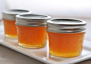 Gingered Peach Marmalade