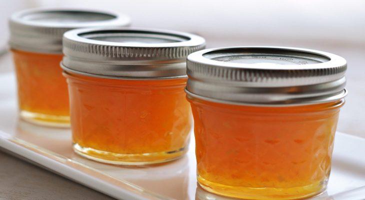 Gingered Peach Marmalade