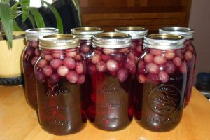 Grape Juice in a Jar