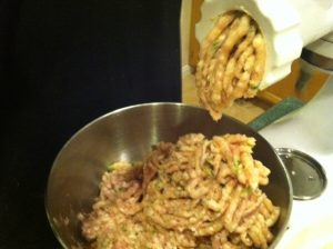 Grinding of Chicken – Both light and dark meat!