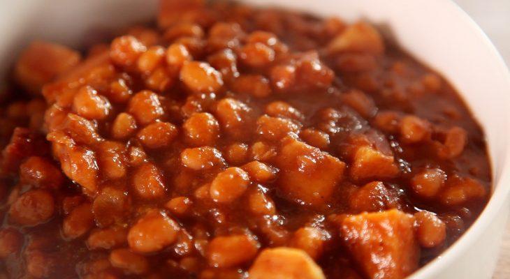 Homemade Pork and Beans