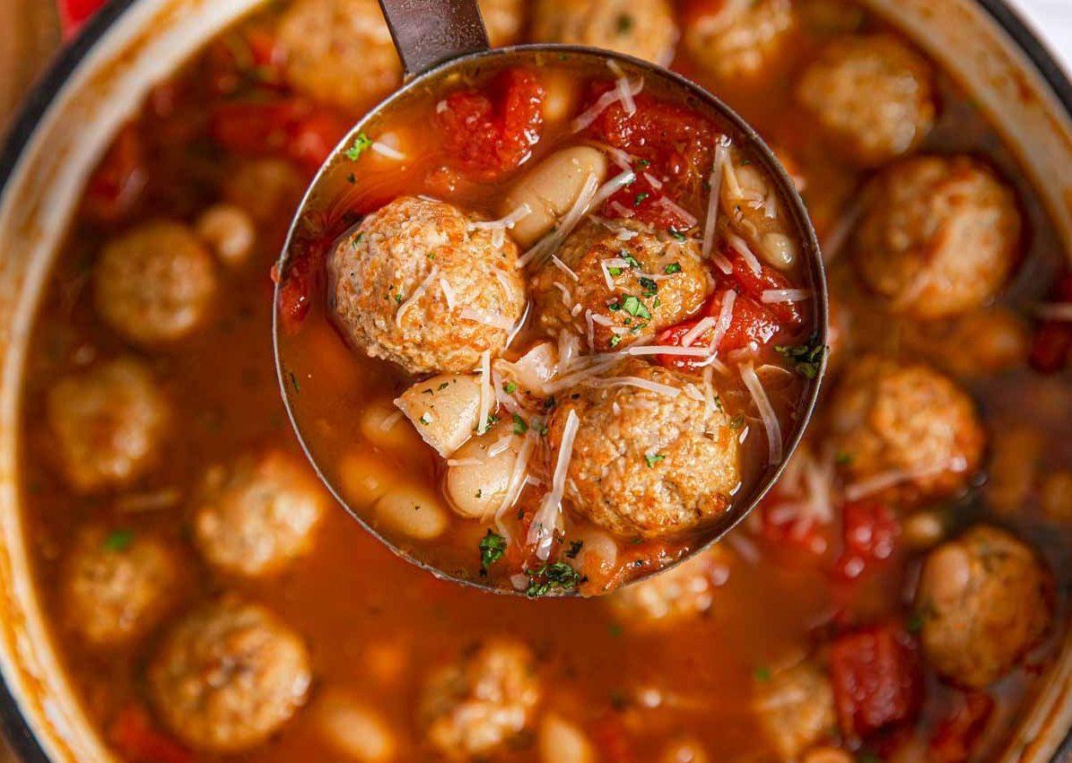 Sherrie's Italian Meatball Soup