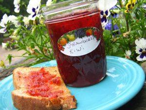 Kiwi Strawberry Daiquiri Jam