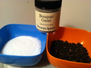 Kosher Salt, Bouquet Garni from Penzey's