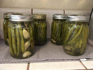 Lemon-and-Bay Leaf Bean Pickles