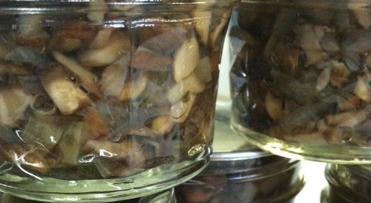 Mushroom and Lemon Tapenade