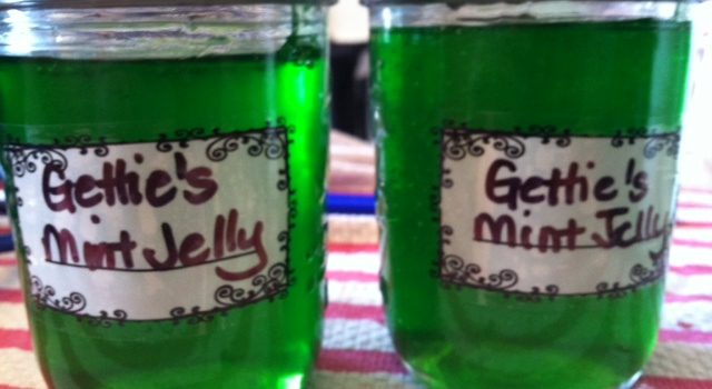Canning Mint jelly