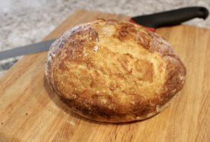 New York Times 4 ingredient bread