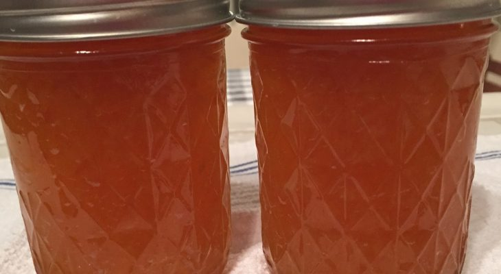 Peach Habanero Jelly
