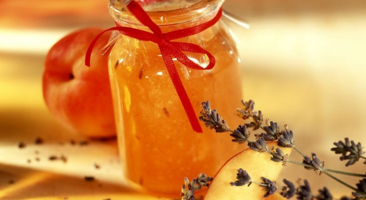 Peach Lavender Jam