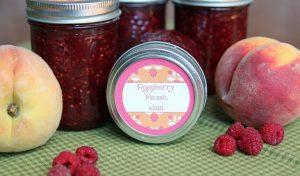 Peach Raspberry Jam