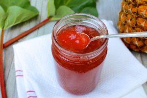 Peach Rhubarb Pie Jam