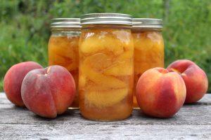 Peach Wine Preserve
