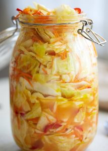 Pickled Cabbage Slaw – Southern Comfort