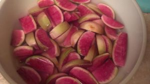Pickled Honey Radishes