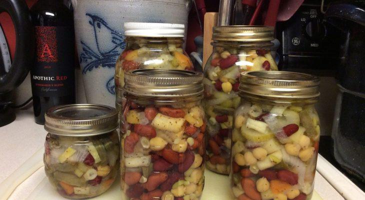 Pickled Three-Bean Salad