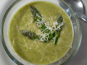 Picture of Creamy asparagus soup
