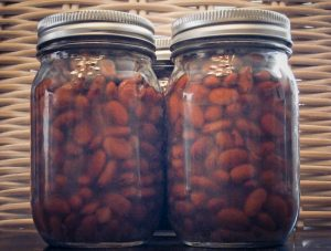 Pressure canning Pinto Beans
