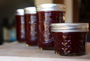 Rhubarb Blackberry Lime Jam
