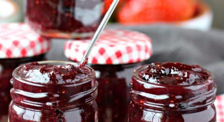 Rhubarb Blackberry Lime Jam