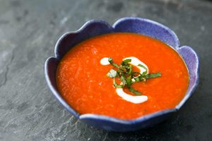 Roasted Red Pepperand tomato soup