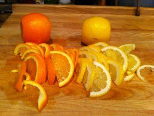 Sliced Navels and Lemons