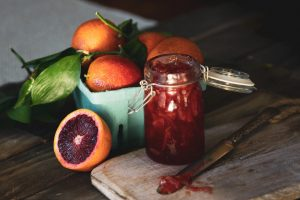 Spiced Blood Orange Marmalade