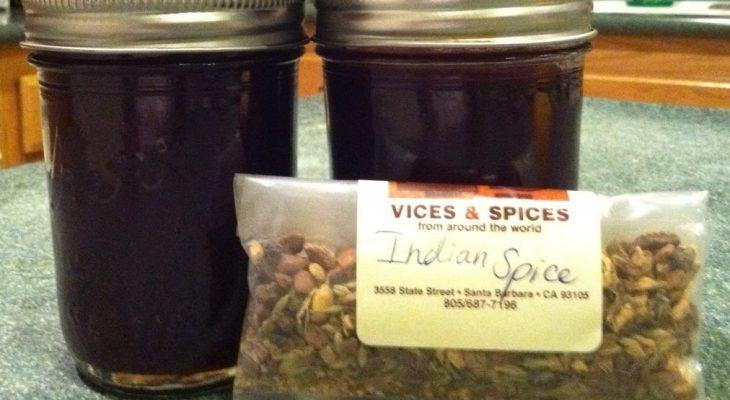 Spiced Plum Preserve
