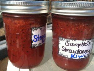Kiwi-Strawberry Jam