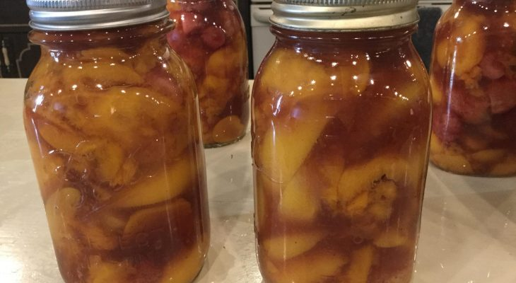 Strawberry Peach Pie Filling