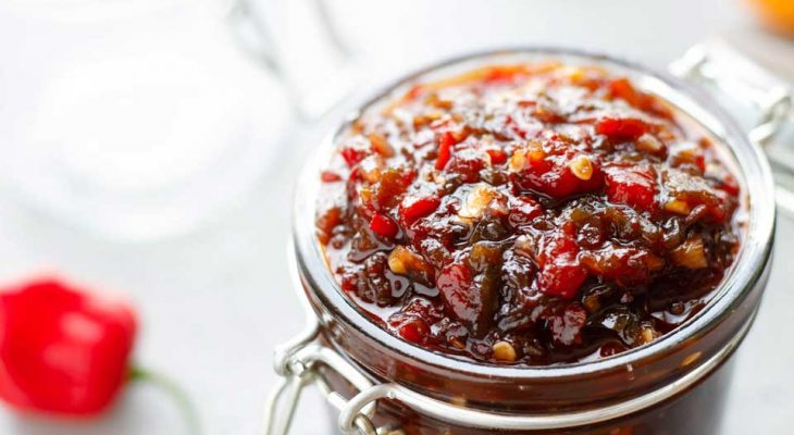 Sweet and Hot Pepper and Onion Relish