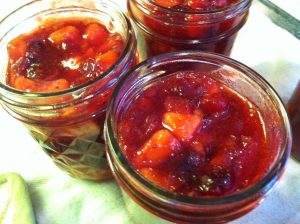Sweet and Sour Cranberry Dipping Sauce