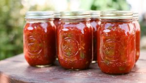 Tomato Rhubarb Chutney