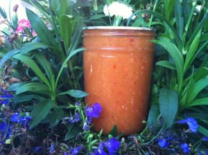 Zesty Peach Barbecue Sauce
