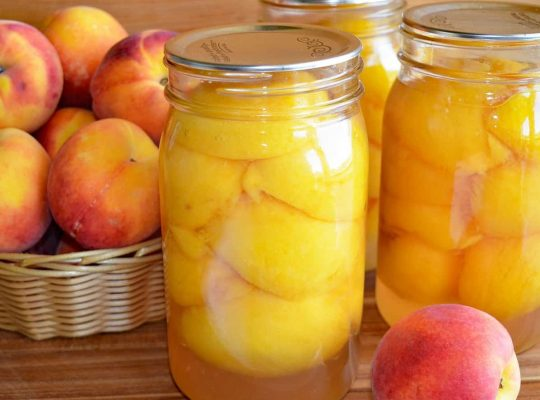 Homemade Canning – Best Advice For Peaches Canning