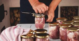Tips to preserve meat in canned way
