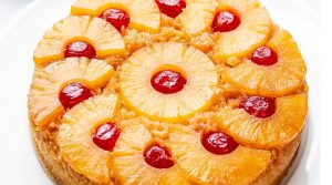 Pineapple upside down cake