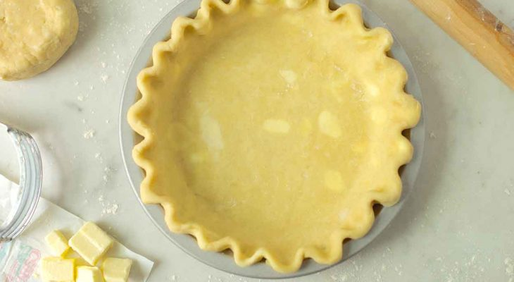 Butter pastry shell