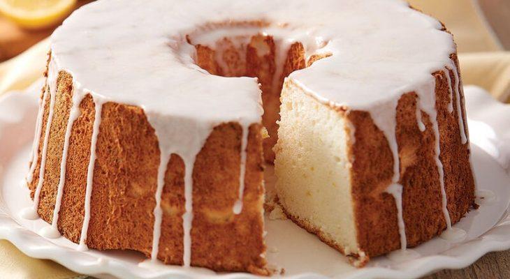 Lemon angel cake