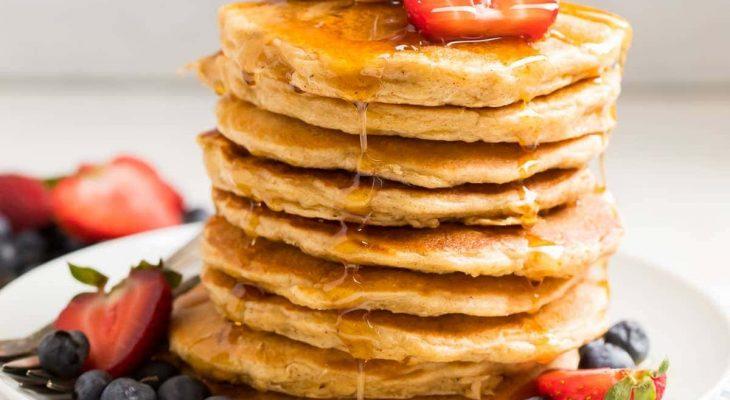 Oatmeal pancake surprise
