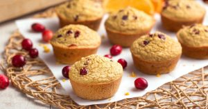 Orange blender muffins