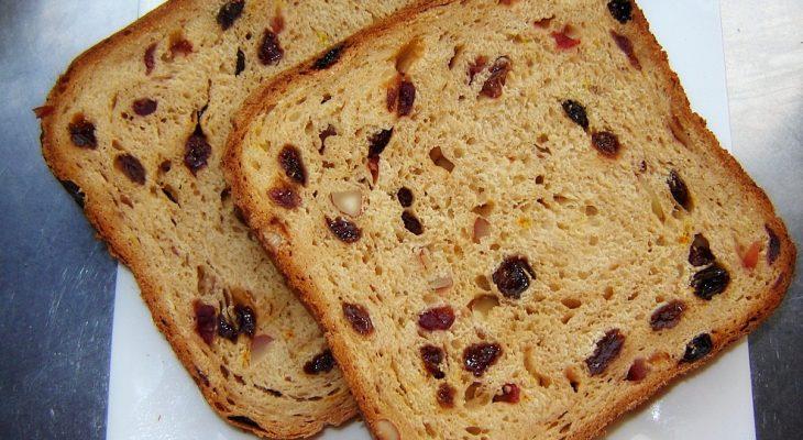 Saffron Fruit Bread