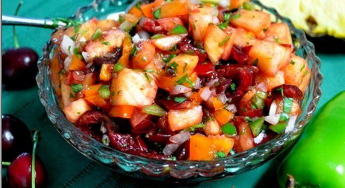 Sassy cherry salsa