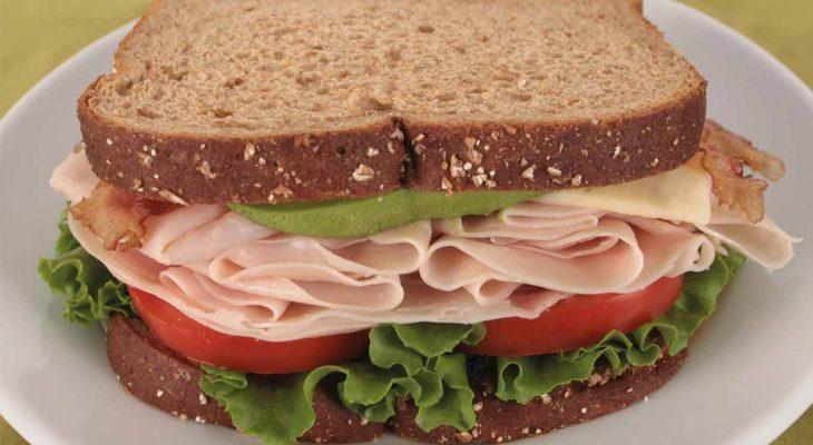 Artichoke Hearts and Ham Toasted Pita Breads