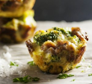 Bacon Broccoli Bites [microwave + deep-frying]