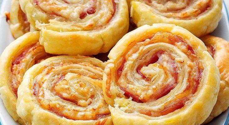 Bacon Cheddar Cheese Spirals
