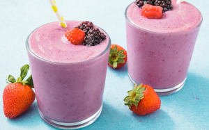 Berry delicious smoothie