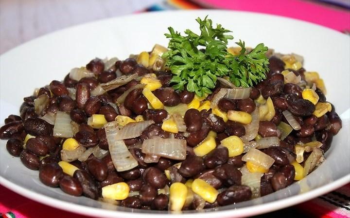 Black bean saute