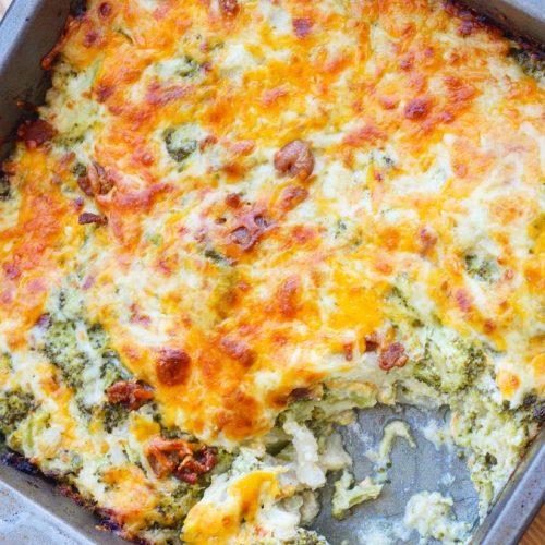Broccoli a la cream cheese