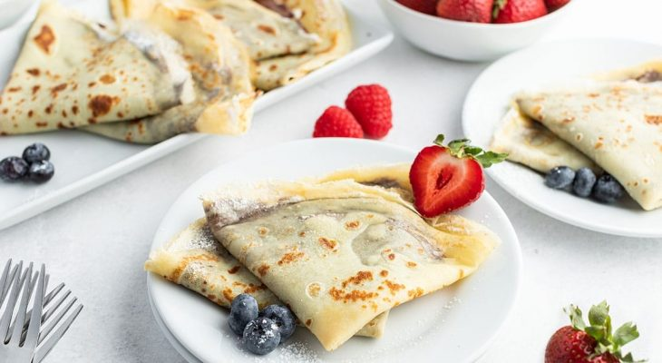 Carole's crepes for main course